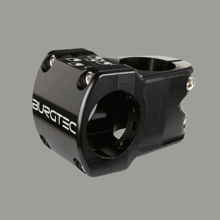 Enduro MK2 Stem Burgtec Black stem 35mm reach 31.8