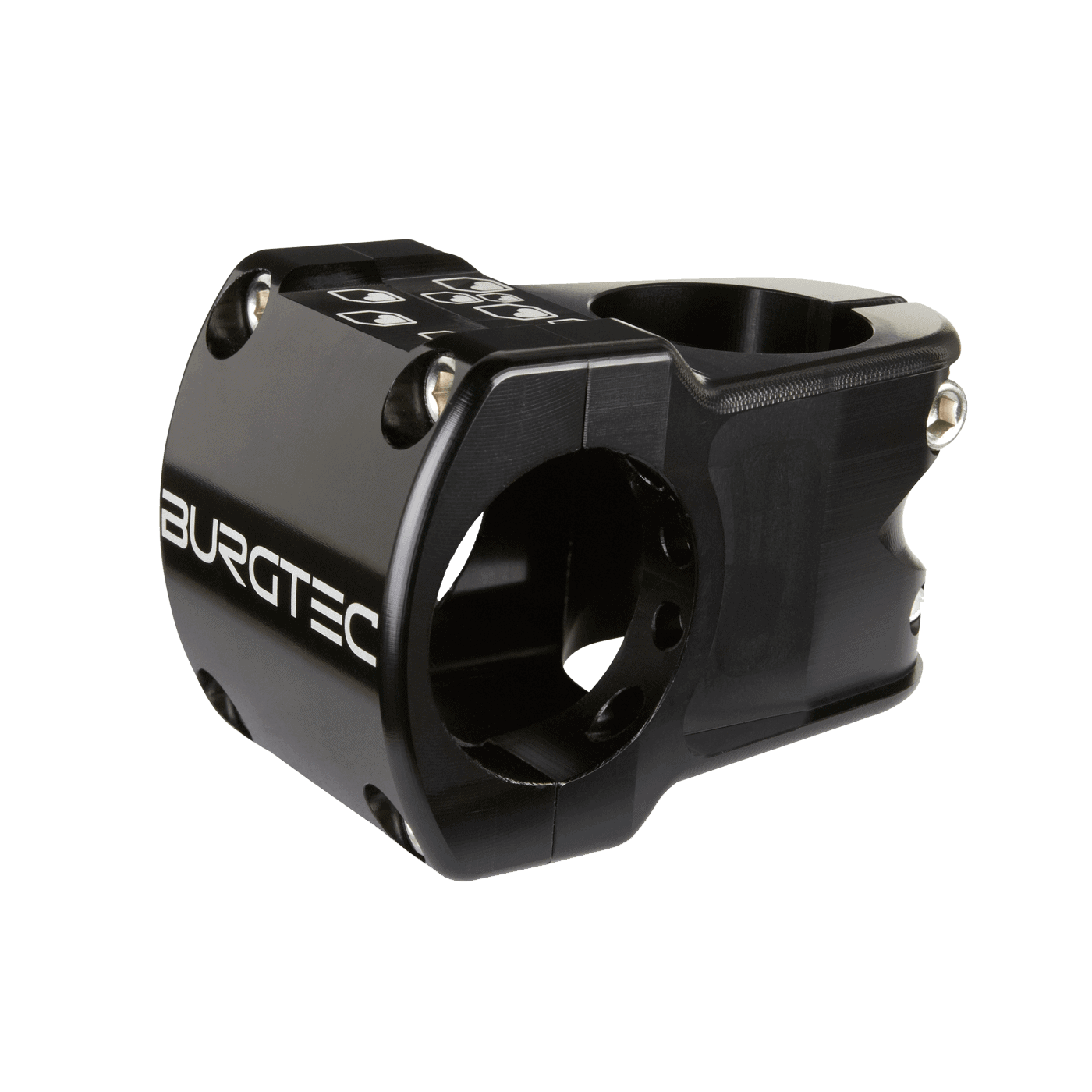 Enduro MK2 Stem Burgtec Black stem 35mm reach 31.8