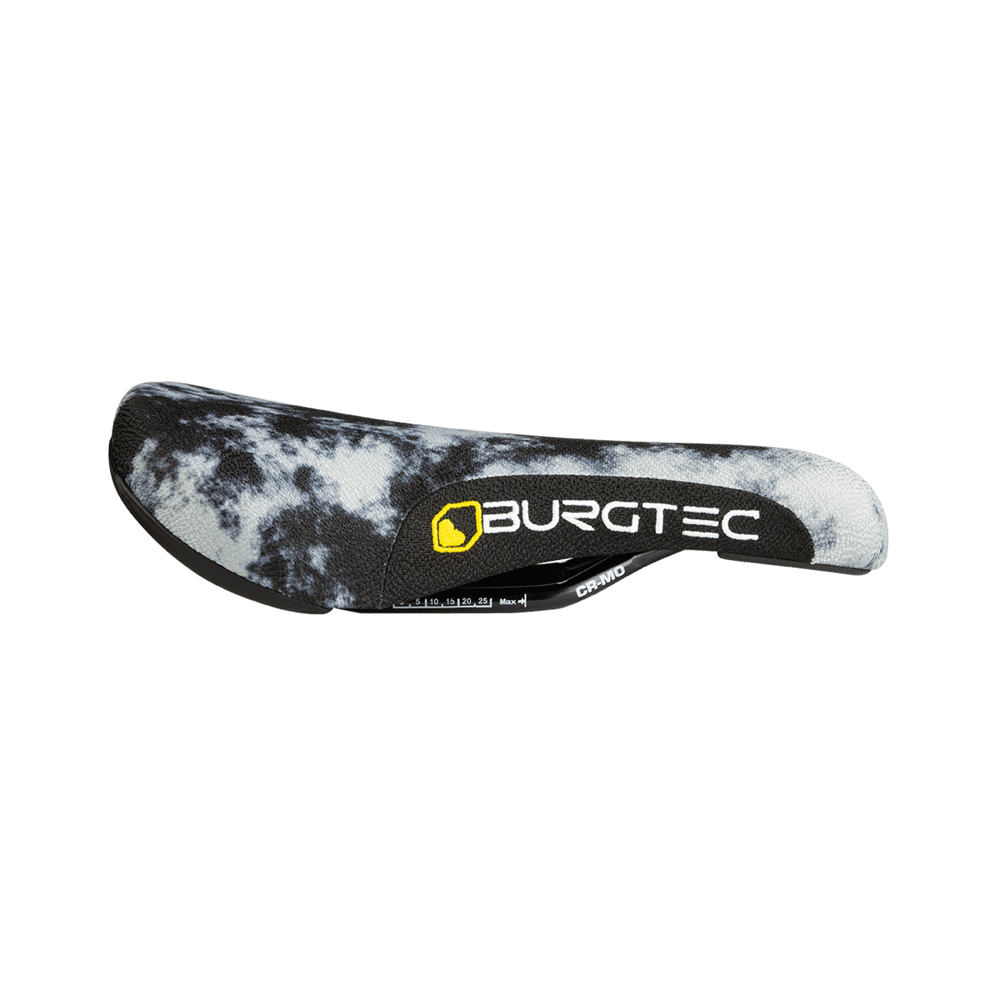 The Cloud Boost Saddle, Acid Wash with White and Yellow Logo