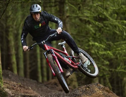Fresh Product! 50mm Rise Ride High Josh Bryceland Signature Handlebar