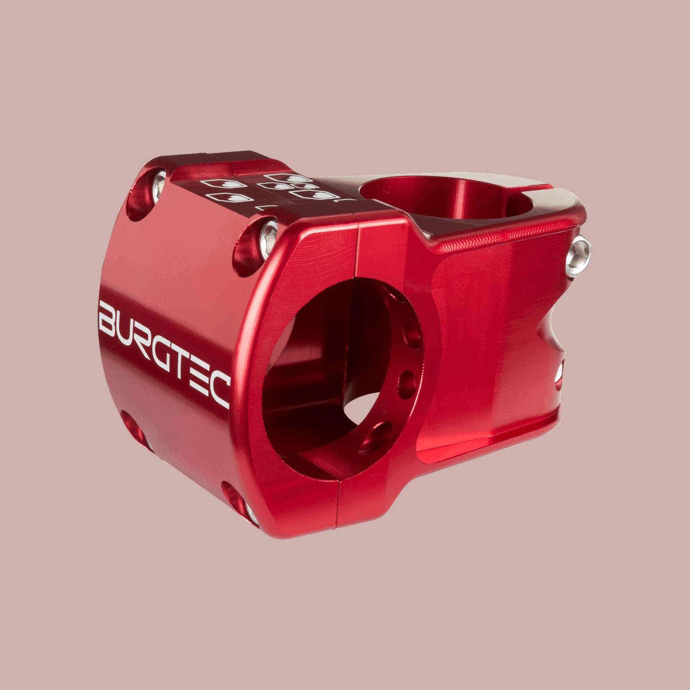 Burgtec Enduro Stem 35mm Race Red